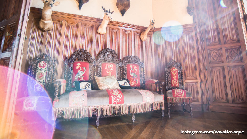 Chateau Challain rooms