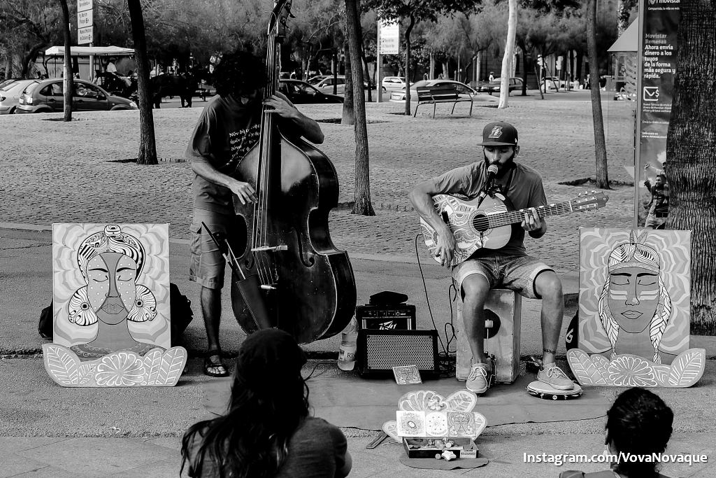 Street music in Barcelona