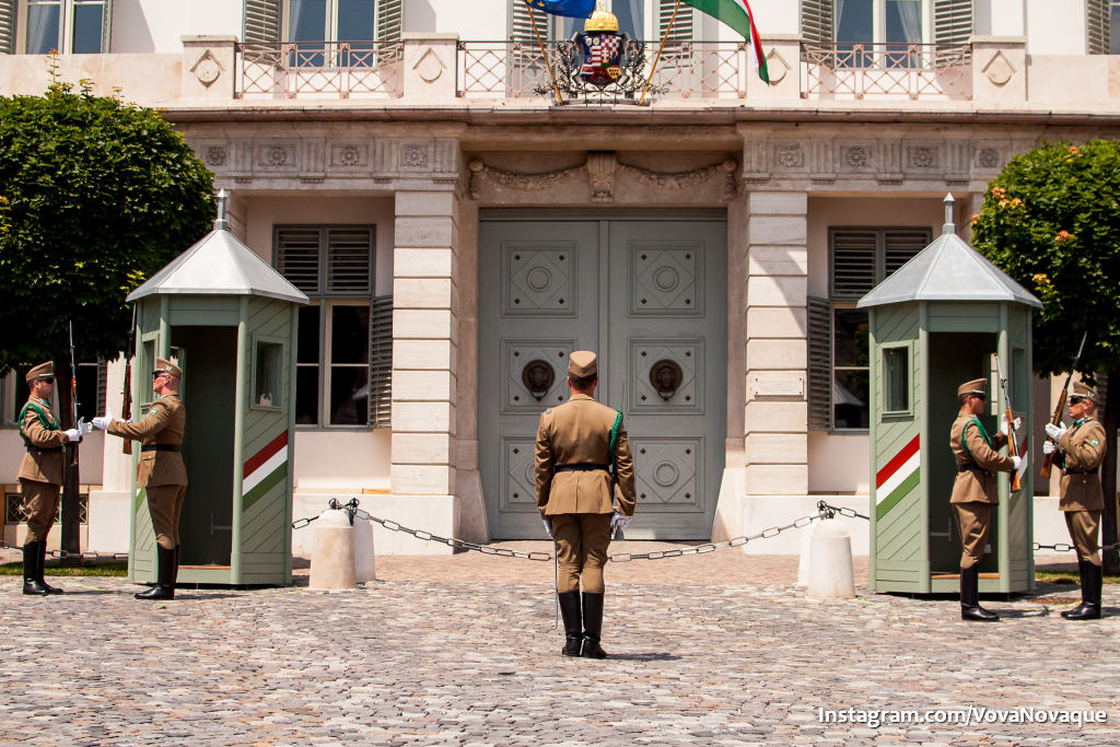 Change of guards in Budapest
