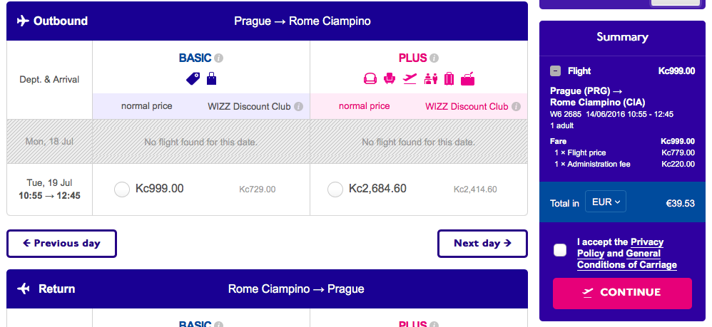 wizz air cheap flights
