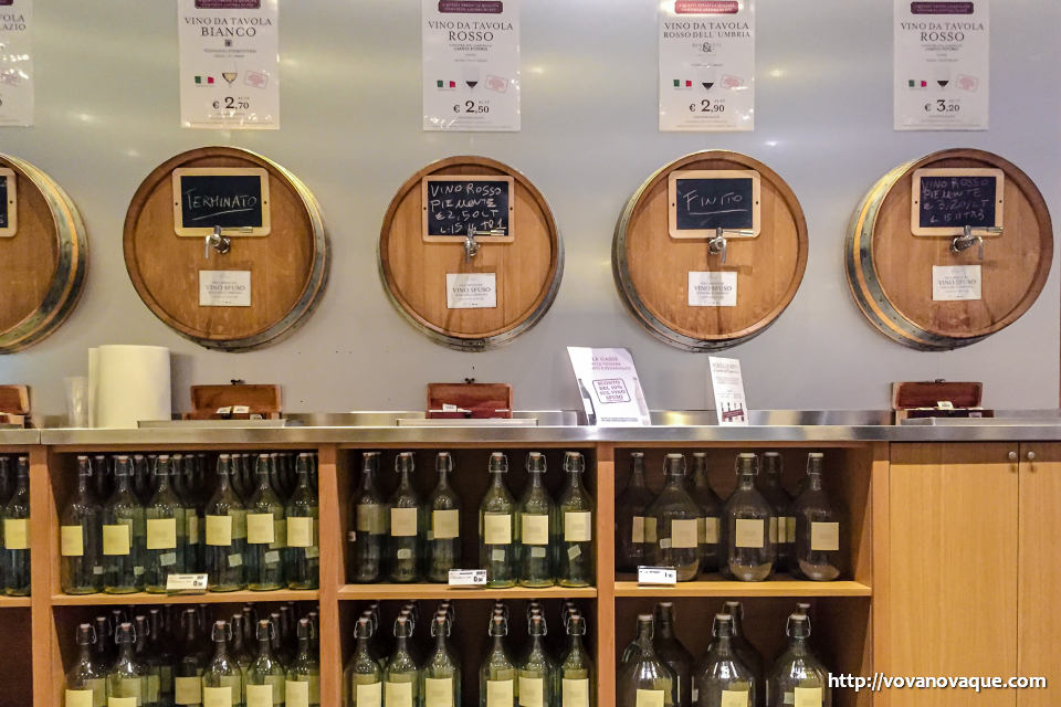 Vine in Eataly prices Rome