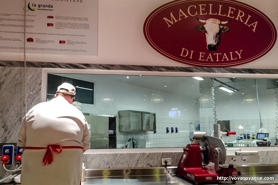 Meat in Eataly