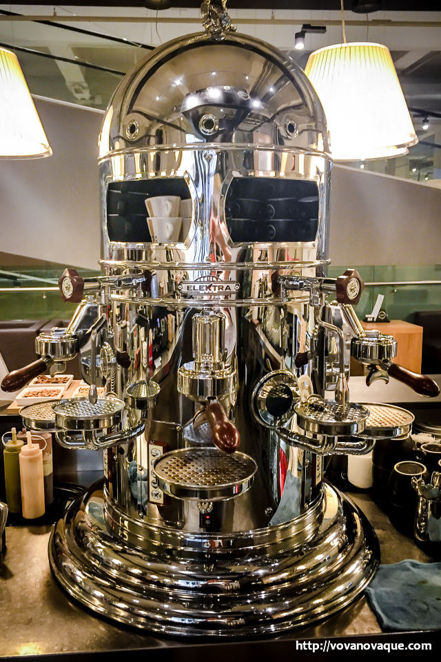 Biggest coffee machine