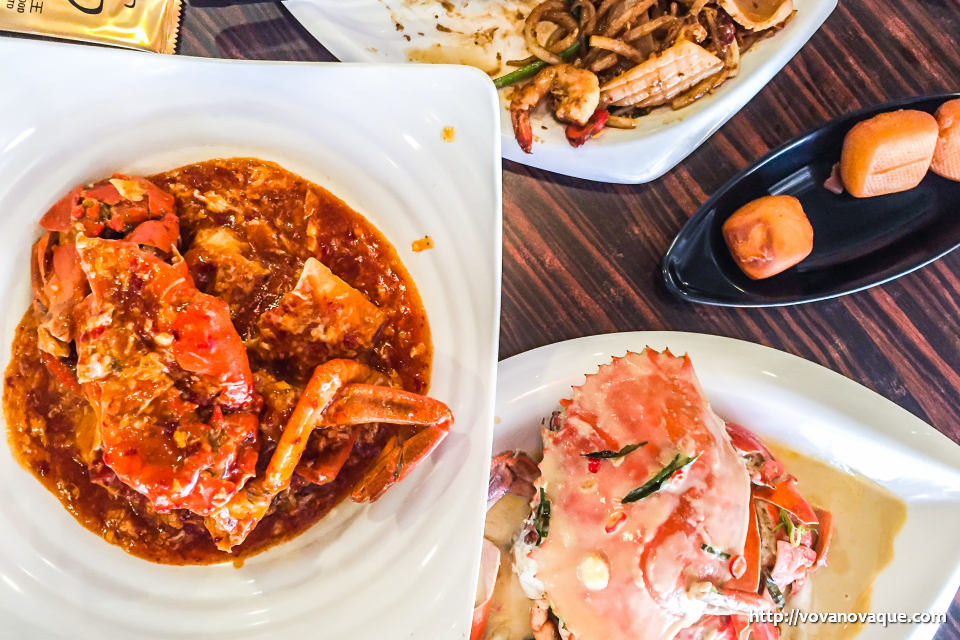 Chilli Crab in Singapore where to eat