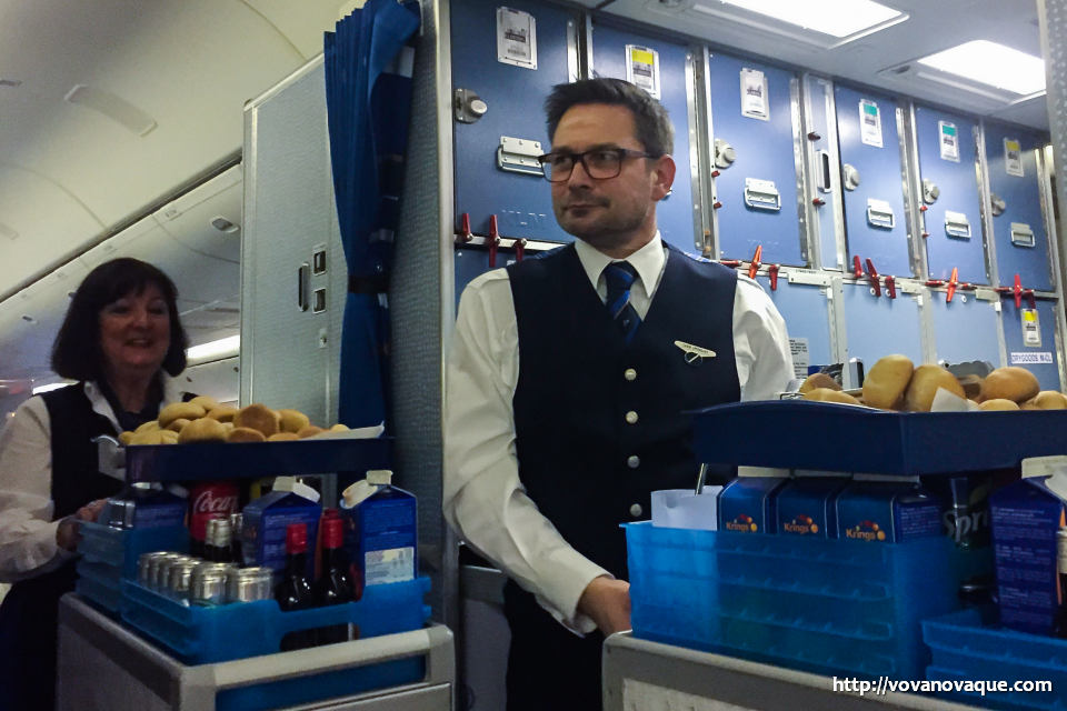 KLM food review
