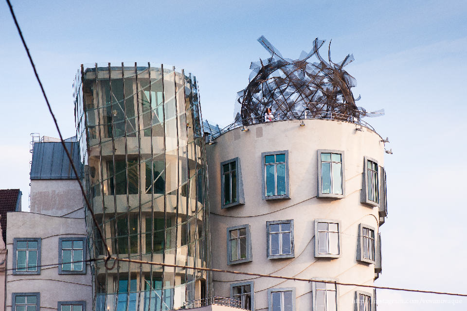 Restaurant in Dancing House