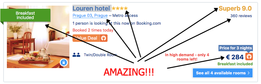 4 star hotel in Prague 3