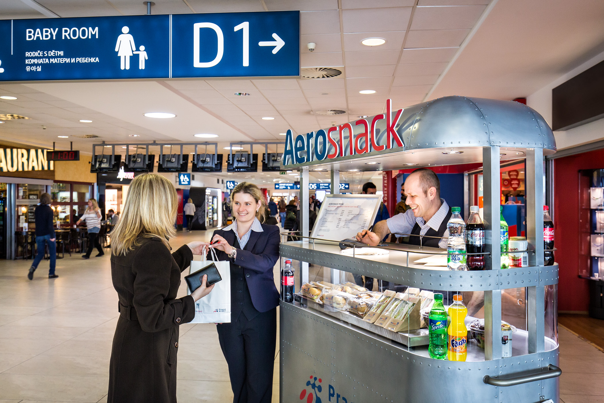 Restaurants in Prague Airport