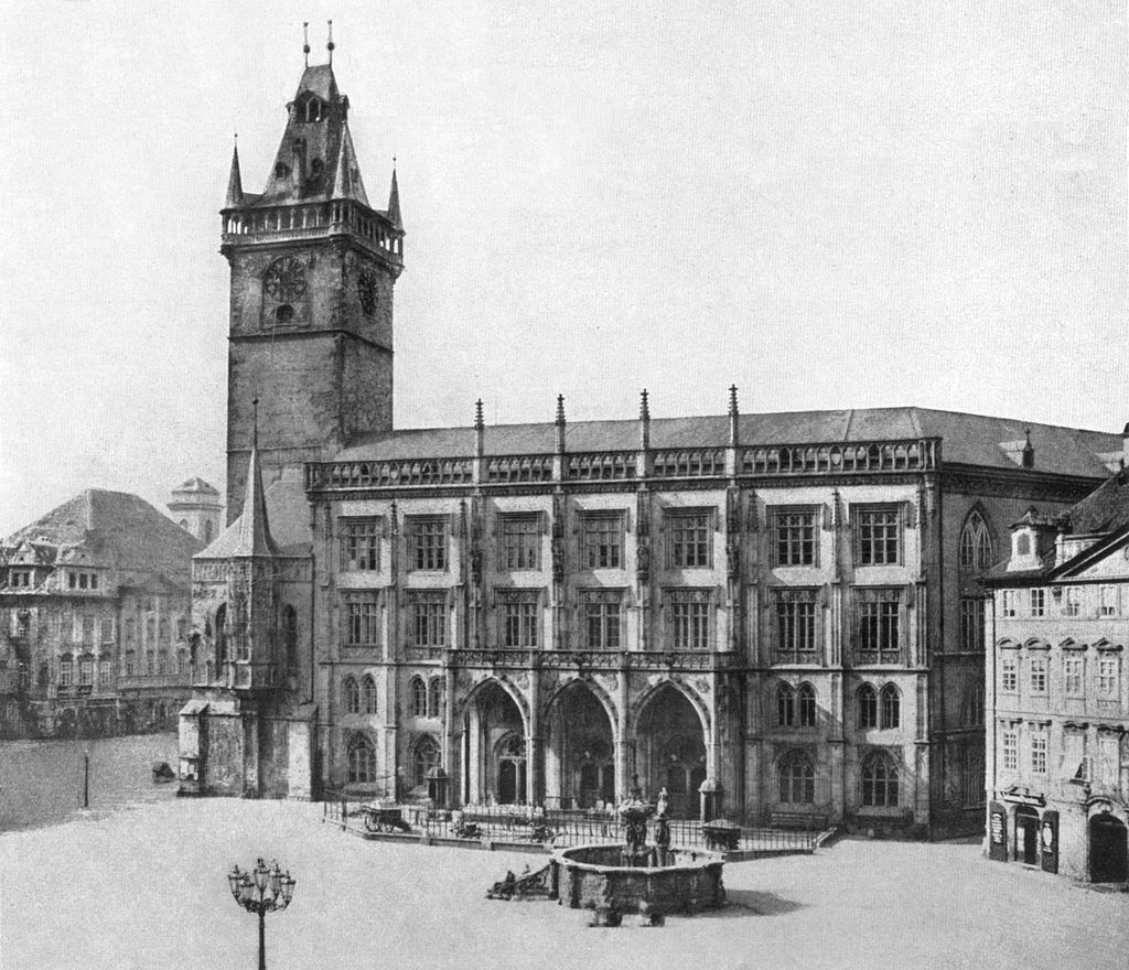 Old Town Hall in 1856