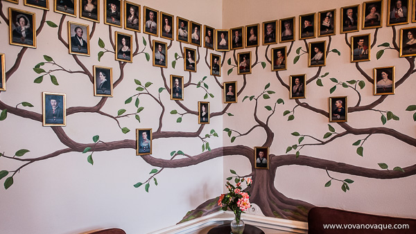 Genealogical tree Cesky Sternberk castle
