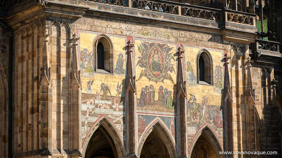Golden Gate St Vitus Cathedral