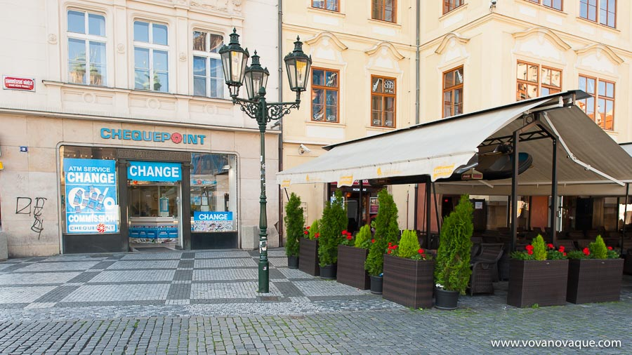 Restaurant in Old Town Square