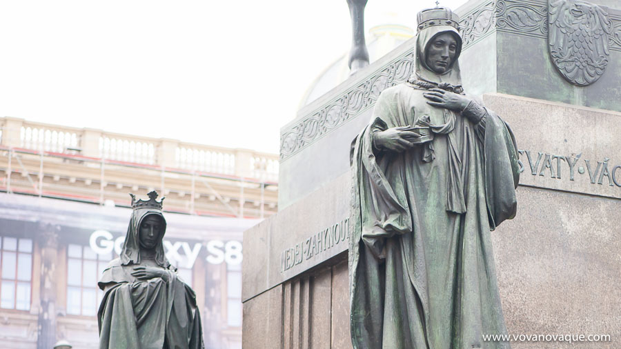 St Ludmila and St Wenceslas