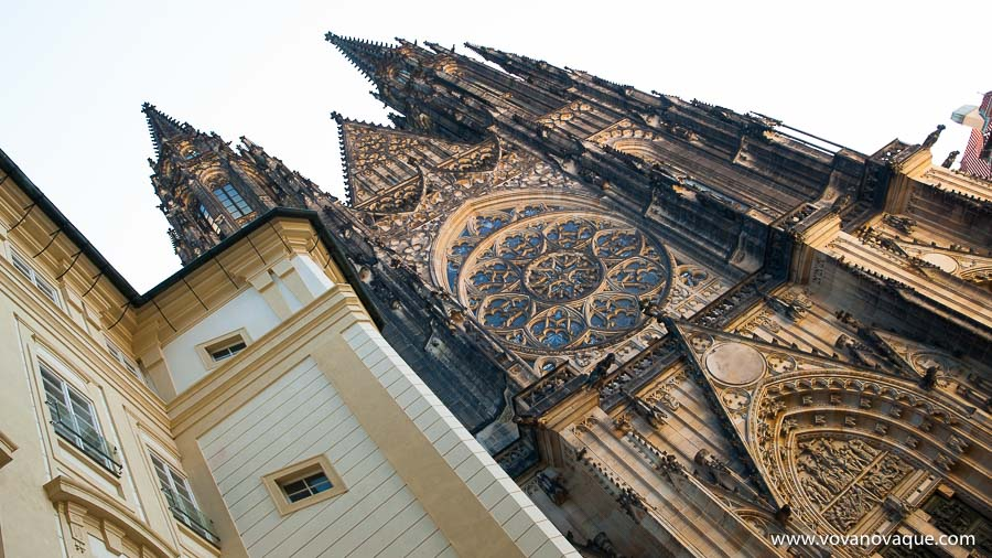 St Vitus Cathedral Main Entrance