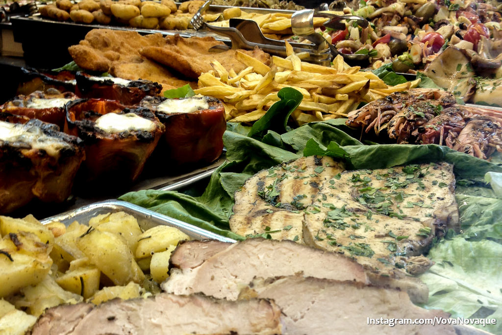 Street food one day in Palermo
