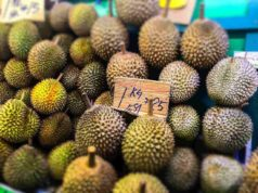 Durian in Singapore