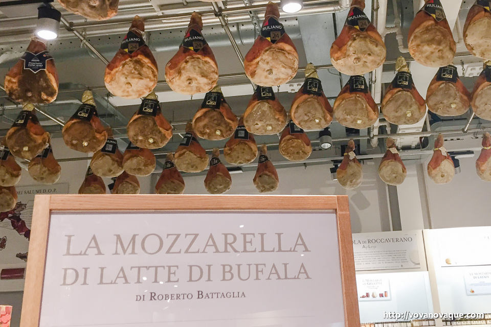 What to buy in Eataly