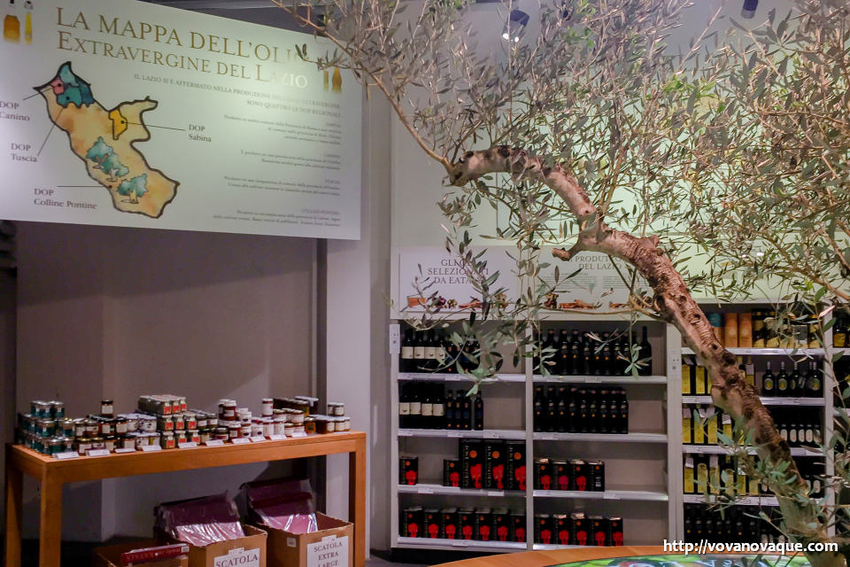 Olive Oil in Eataly price Rome