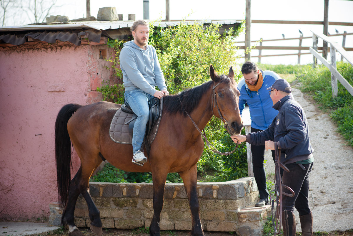 Horseback Riding Tour in Rome