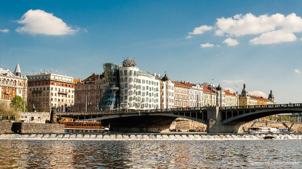 Dancing house in Prague how to find