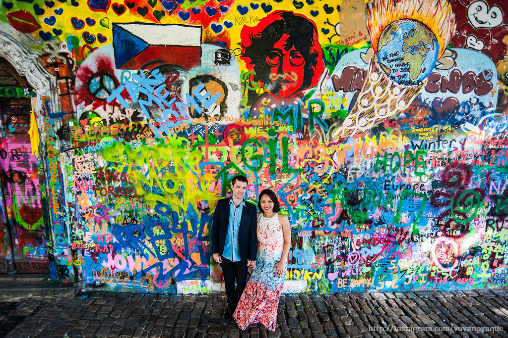 How to find Lennon Wall in Prague