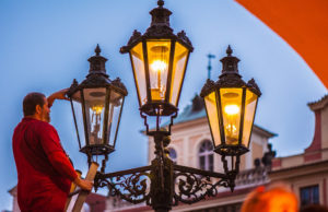 Steet Lights in Prague