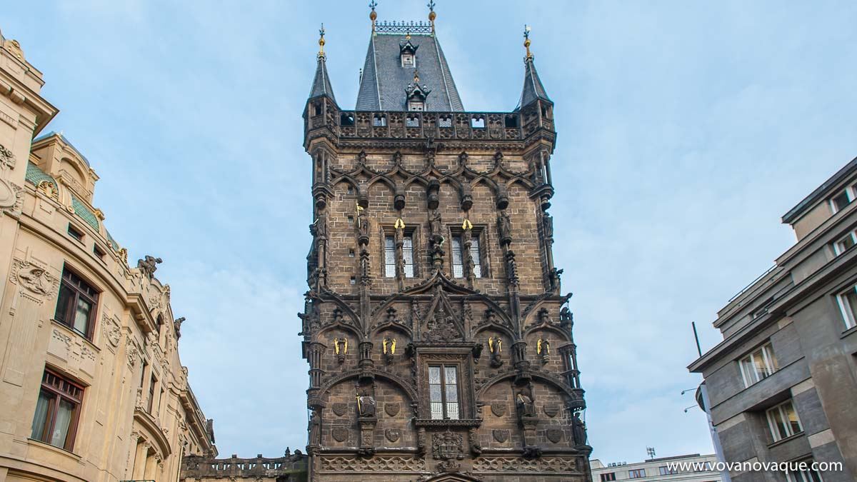 Powder Tower in Prague