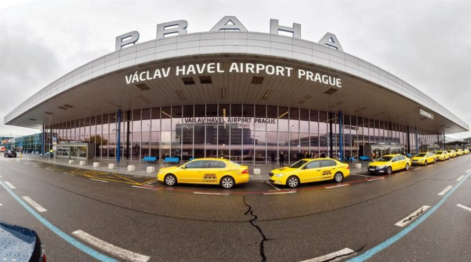 Vaclav Havel airport in Prague