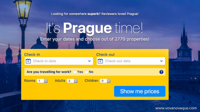 How to choose hotel in Prague