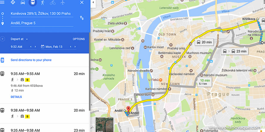 How to get around Prague