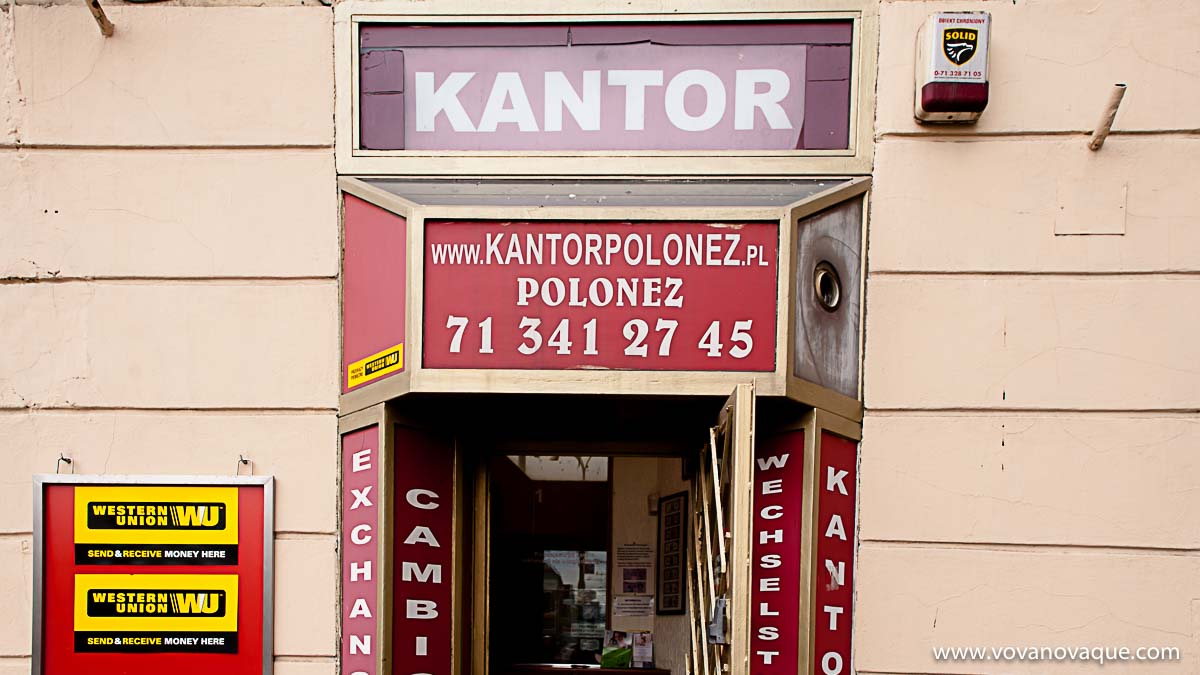 Where To Exchange Money In Wroclaw Zloty And Kantor