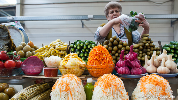 Russian pickled vegetables
