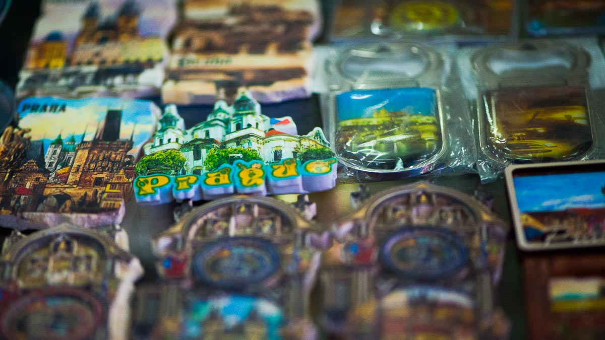 Magnets to buy in Prague