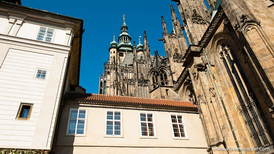 Southern Tower of St Vitus Cathedral