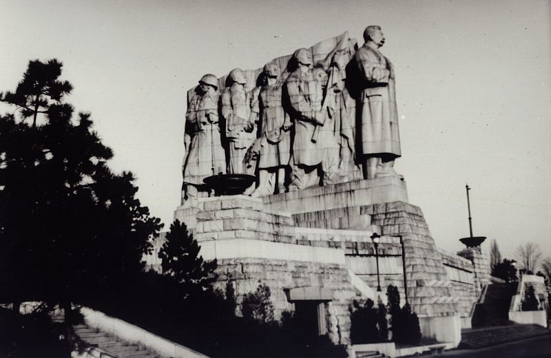 Stalin monument in Prague history