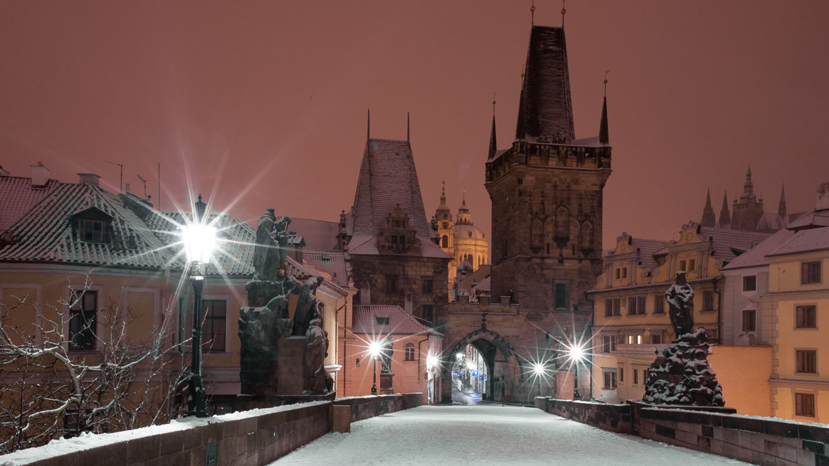 January in Prague