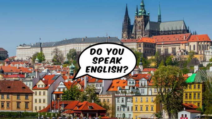 do people speak english in prague