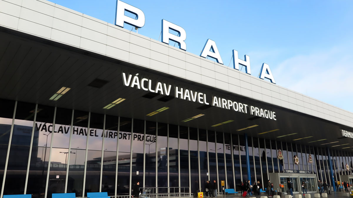 How to get from Prague airport