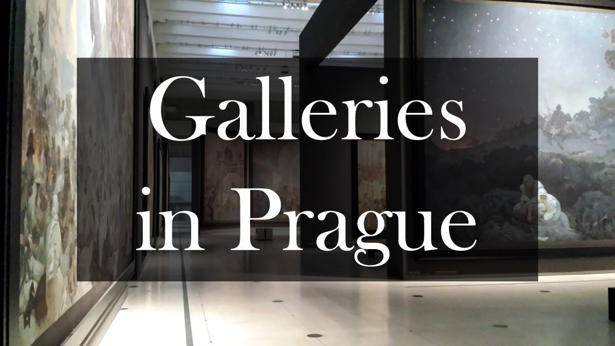 Galleris in Prague where to go