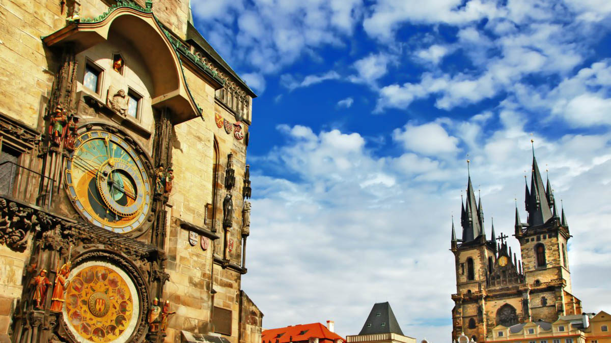 Where can a person drink in Prague