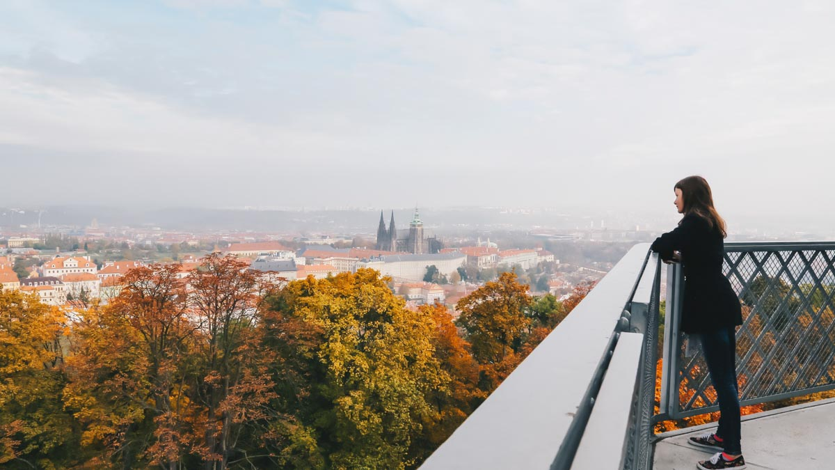 Observation Deck on Petrin Hill