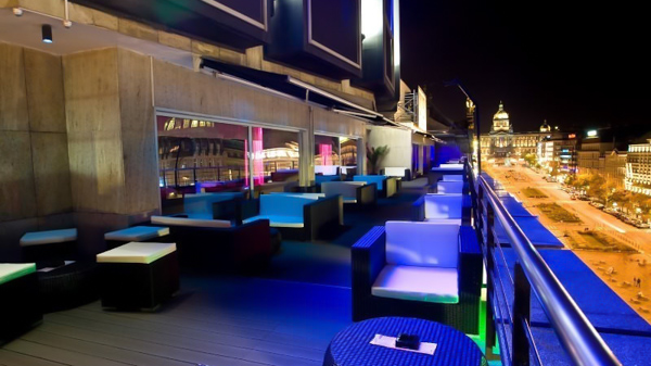 best rooftop bars and restaurants in prague the list of top places. Black Bedroom Furniture Sets. Home Design Ideas