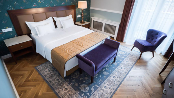 hotels near Prague train station Esplanade