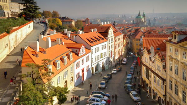 Golden Star best 4 star hotel in Prague