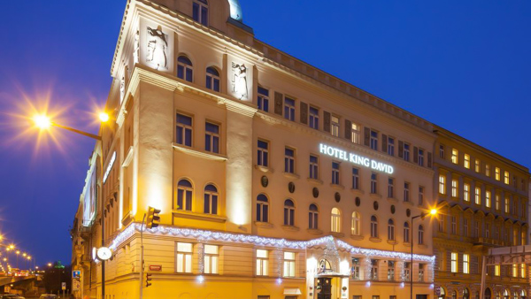 hotels near Prague train station Hotel King David