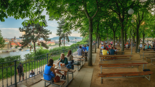 Where to drink beer in Prague beer gardens