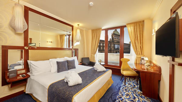 hotels near Prague train station Occidental Praha Wilson