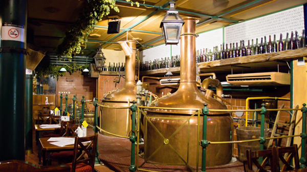 Where to drink beer in Prague Richter Brewery Pub