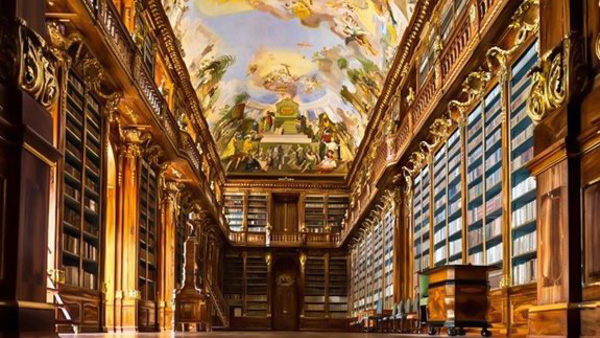 Museums in Prague Strahov Library