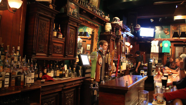 Where to drink beer in Prague The Dubliner Irish Pub